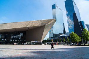 Architecture Route in Rotterdam, Architectuur route in Rotterdam, Markthal, Blaak, Erasmusbrug, Erasmusbridge, Museumpark, Schouwburgplein, Rotterdam Central Station, Rotterdam Centraal Station, Luchtsingel, kubuswoningen