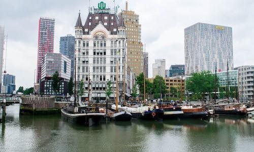 historische Route Rotterdam, Oude Haven Rotterdam, Historic Route Rotterdam