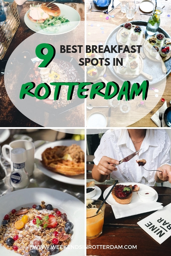 Are you looking for a great breakfast spot in Rotterdam? Check out this post with some the 9 best breakfast spots in Rotterdam! #Rotterdam #theNetherlands