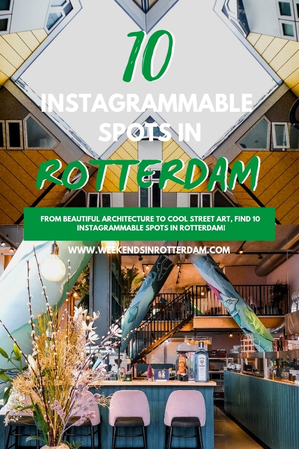 To help you make your feed look as good as possible while you're in Rotterdam, the Netherlands we're sharing some of our favourite spots in Rotterdam for good photos. #WeekendsinRotterdam #Rotterdam #WeekendsinRotterdam
