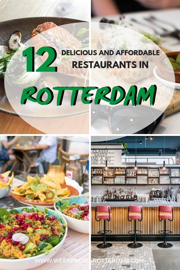 Do you want to go out for dinner in Rotterdam, but are you on a budget? In this article we share 12 delicious and affordable restaurants in Rotterdam, the Netherlands! #Rotterdam