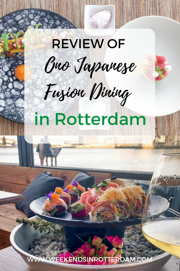 Read Olivia's review on Ono Japanese Fusion Dining in Rotterdam. Ono Fusion wants to make its take on Japanese cuisine accessible to everyone. So whether you're exploring Rotterdam's food scene on a budget, or looking to impress someone with an elaborate dinner with a view, you will be most welcome here.