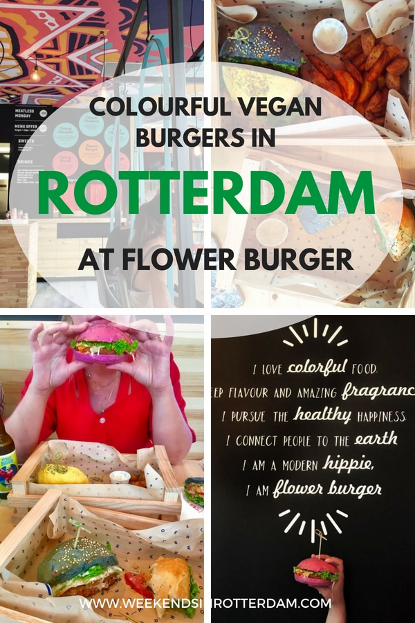 Did you hear? Flower Burger has opened in Rotterdam! Our blogger Julia den Outer went for a taste. The burgers are very colourful and most importantly vegan. Flower Burger has a kind of fast food concept, but one that you do not feel guilty about. #Rotterdam #VeganBurgers #vegan #flowerburger #pinkburger #foodporn