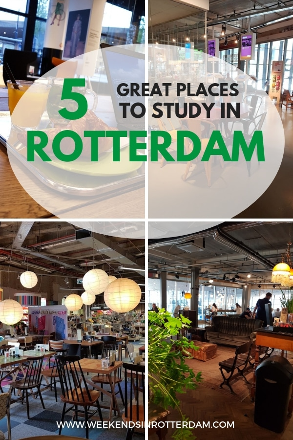 Are you an expat in Rotterdam and in need of a great place to study? Then check out this post with the 5 best places to study in Rotterdam! #Rotterdam #Netherlands