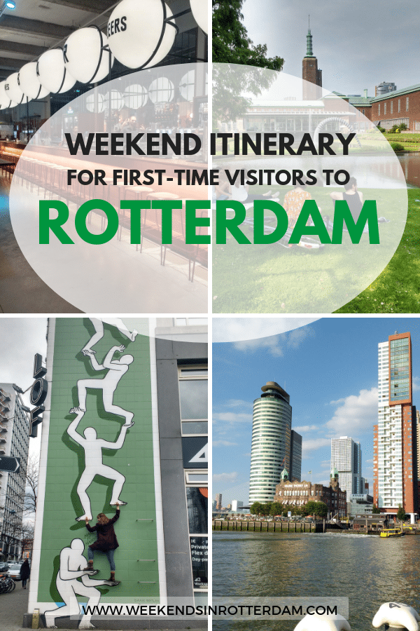 In this two-day Rotterdam itinerary, I cover my favourite spots and must-see attractions for first-time visitors to this Dutch city. It's a packed weekend route, as there's so much to see, do and eat in Rotterdam. We'll only be staying in the central parts of Rotterdam for this weekend itinerary – be sure to also explore what lies beyond the city centre if you're staying for longer! #Rotterdam #TheNetherlands