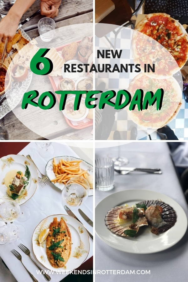 Are you looking for a restaurant in Rotterdam? Perhaps try one of these new restaurants in our city! From Italian to Korean food, there is something for everyone. Check out these 6 new restaurants in Rotterdam!