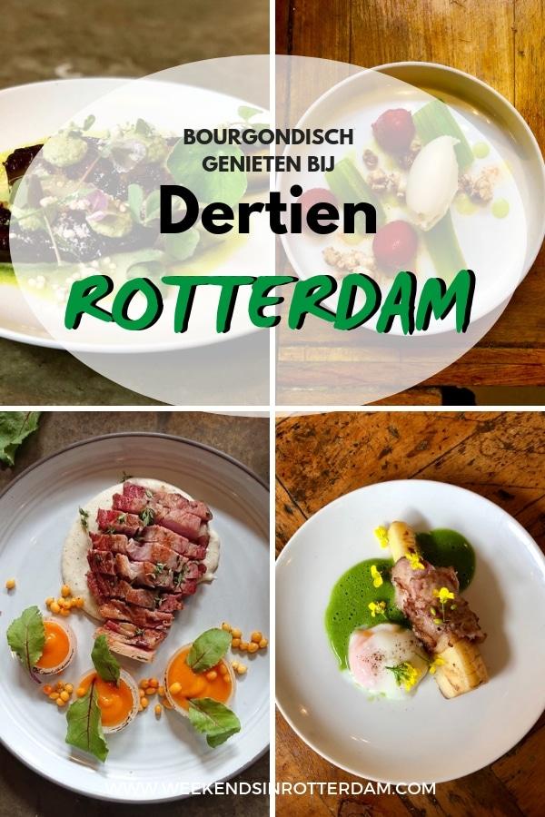 Of je chicste outfit aan hebt of gewoon casual in je spijkerbroek en gymschoenen aankomt, in beide gevallen zal je niet uit de toon vallen bij Dertien. De verfijning van de gerechten in combinatie met de warme, ontspannen sfeer maakt dit restaurant een geschikte locatie voor talloze gelegenheden. #Dertien #Rotterdam #Nederland