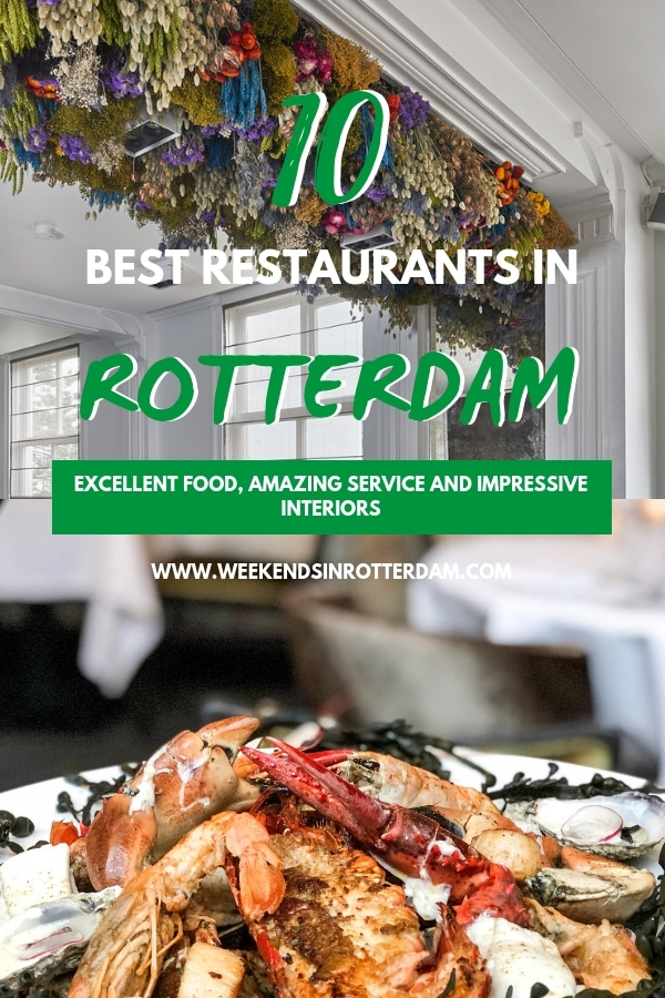 Are you looking for a restaurant in Rotterdam for a special occasion? In this article you can find the 10 best restaurants in Rotterdam. They excel in service, food and most of them have impressive interiors! #Rotterdam #theNetherlands